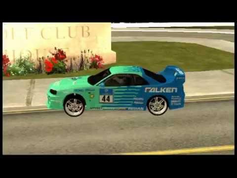 Gta Samp Sa New Cars Uif Server Youtube