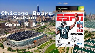 ESPN NFL 2K5 - Xbox - Season Game 8 & 9 - Chicago Bears