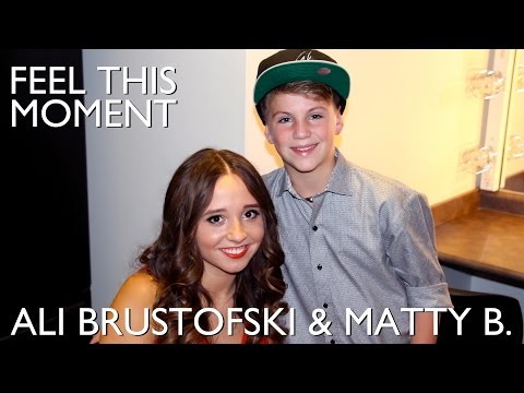 Feel This Moment - Pitbull ft. Christina Aguilera - MattyBRaps & Ali Brustofski - Live Cover