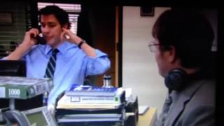 The Office Dwight And Andy Singing
