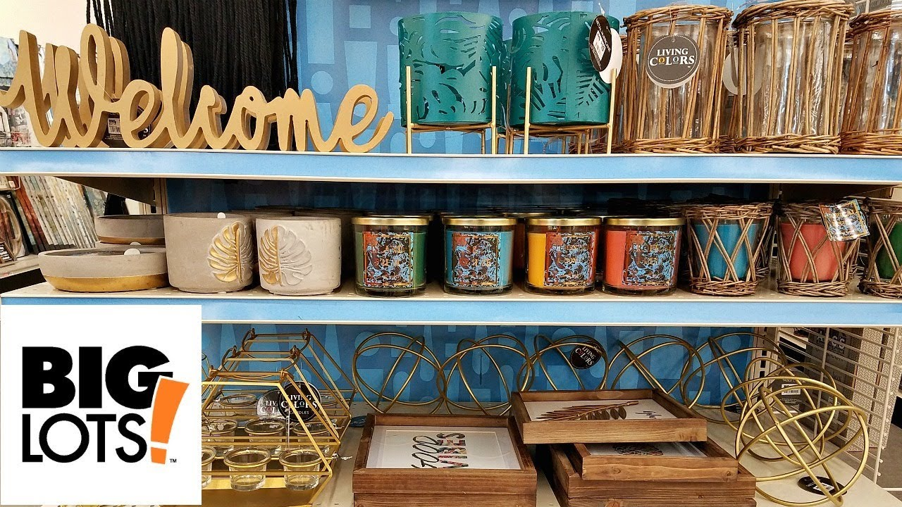 Shop With Me Big Lots New Summer Home Decor Beauty Finds