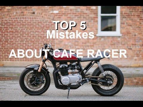 Top 5 sai lầm khi độ cafe racer vietsub!