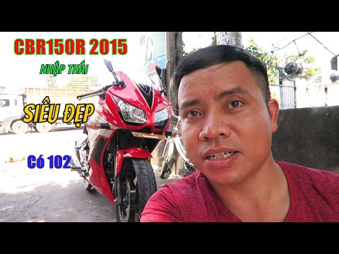 Moto HonDa CBR150R Dòng sport City Nhập Thái Đời 2015 Siêu Đẹp | Thắng Biker