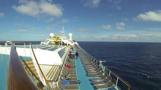 Time lapse Costa Pacifica: concerto per pianoforte e crociera