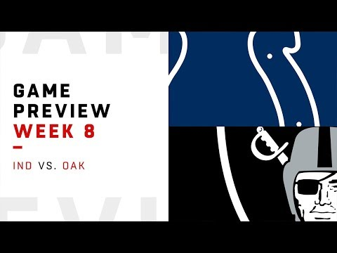 Indianapolis Colts vs. Oakland Raiders | Week 8 Game Preview | NFL Film Review