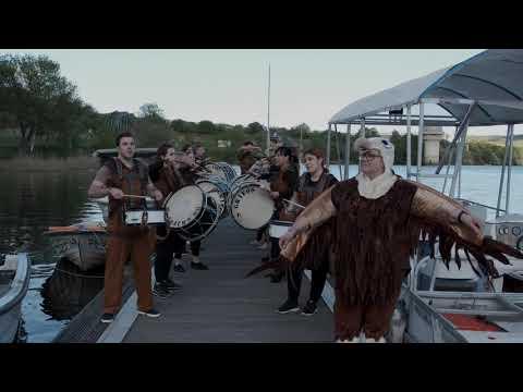 Grupo de bombos «Os grifos» de Vila Velha de Ródão interpretam «Fúria» (parte 1).