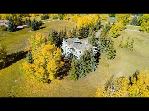Calgary Real Estate Property Video Tour Production - 59 Calling Horse Estate, Rocky View