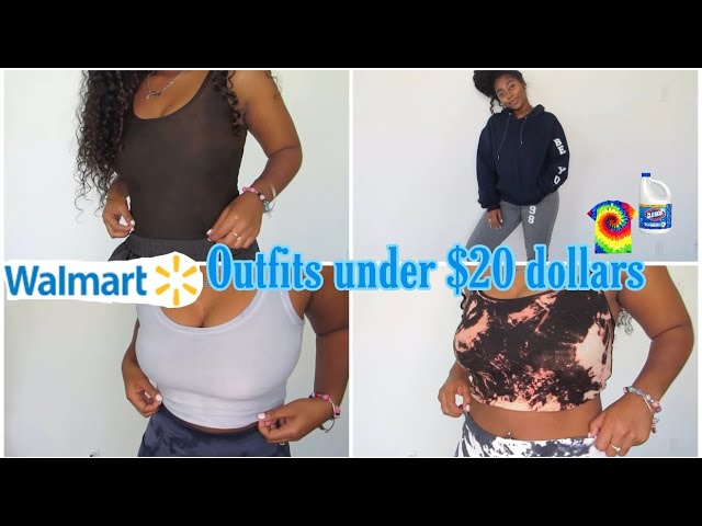 UNBELIEVABLY CHEAP CLOTHES FROM WALMART UNDER $20 DOLLARS|DIY TYE DYE & BLEACH SETS| MUST WATCH !!!!