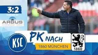 KSC-Pressekonferenz nach 1860 München (16.Spieltag)