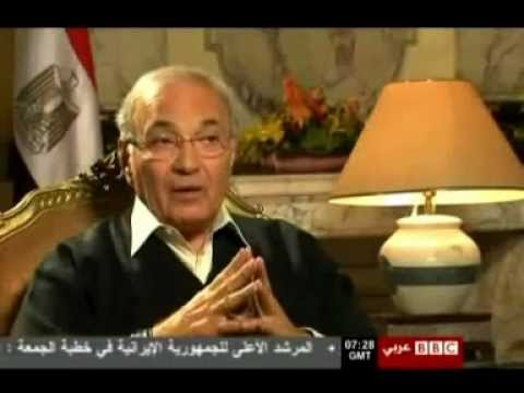 "Mubarak's Ahmed Shafiq Rejecting his Immediate Ouster on ""Family Grounds"""