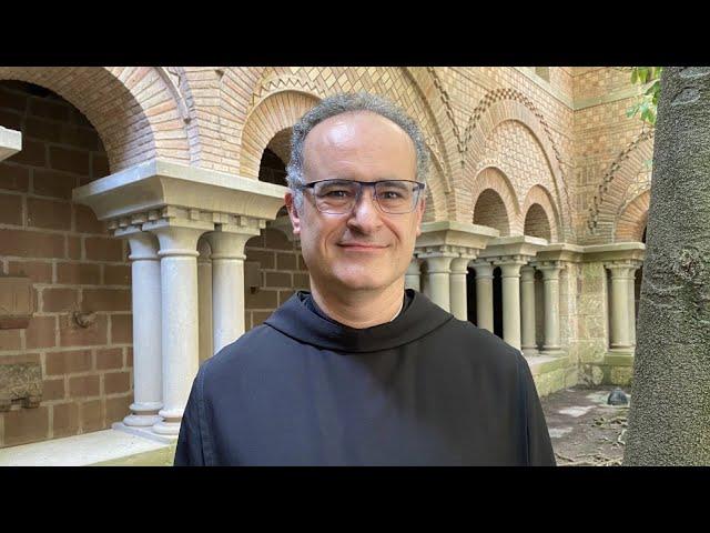 El P. Manel Gasch, nou abat del Monestir de Santa Maria de Montserrat.