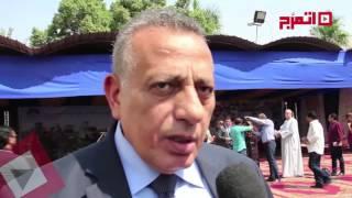 اتفرج | وزارة البيئة تحتفل بتسليم معدات المخلفات من الهيئة العربية للتصنيع