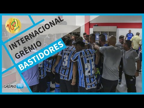 [BASTIDORES] Internacional 1x2 Grêmio (Gauchão 2018) l GrêmioTV