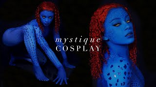 Mystique (X-Men) Transformation - Cosplay Tutorial | jasmeannnn