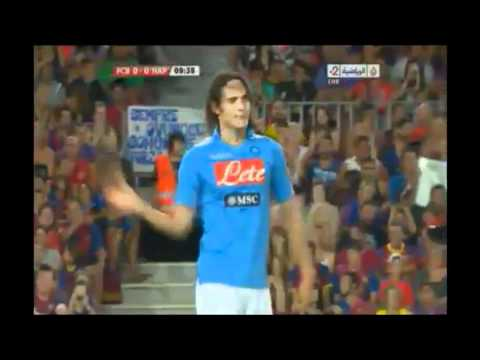 Cavani Best Bicycle Goal - Owns Barcelona