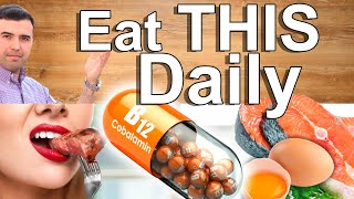 EAT THIS DAILY For Vitamin B12 - TOP 10 Rich Food Sources of B12 - The Vitamin of Life