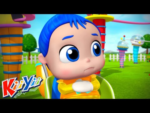 Нет Нет Безопасная игра на детской площадке + Еще!   KiiYii   мультфильмы для детей   детские песни