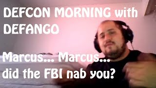 Hey, yo.  Is this the same DefCon Marcus they just busted?