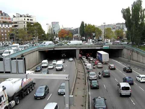 Boulevard périphérique parisien