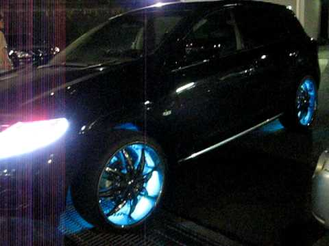 Nissan Altima 2.5S >> nissan MURANO LED custom Security installation - YouTube
