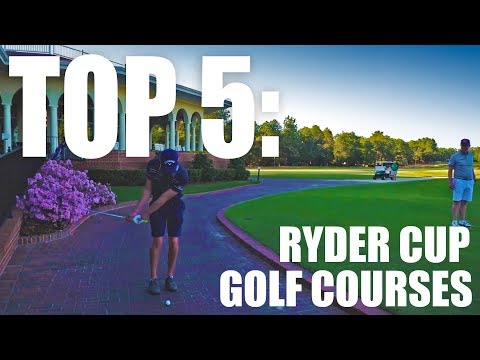 BEST RYDER CUP Golf Courses by YGT Rory [2018] Including Mark Crossfield Vlog Highlights
