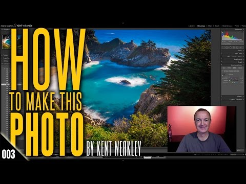 Smooth Long Exposure Water McWay Falls Big Sur – How To Make This Photo: 003 – by Kent Weakley