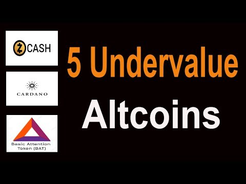 5 Undervalue Altcoins ! Soon Will Add in Coinbase In Hindi