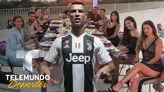 Cristiano Ronaldo deja exuberante propina en hote | Deporte Rosa | Telemundo Deportes
