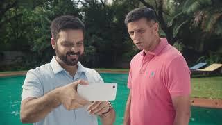 Rahul Dravid meets Google Pixel 3 | Group Selfie Cam