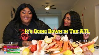 Seafood Boil with Music Artist Tokyo Vanity, from Love & Hip Hop Atlanta