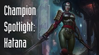 Infinite Crisis Champion Spotlight: Katana