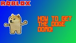 How to get the DOGE DOMO! | Find The Domos | Roblox