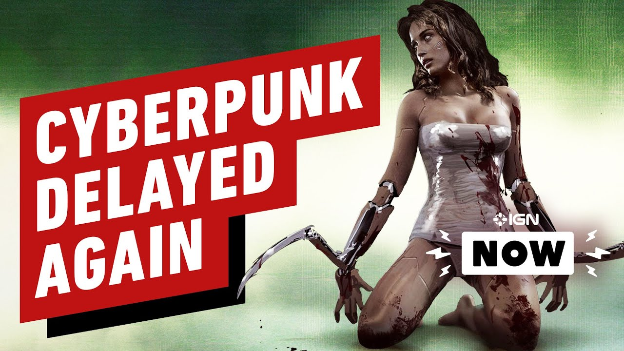 'Cyberpunk 2077' Delayed Again, Announces New Release Date