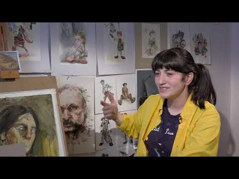 Being 20 - GlobNews - The Young Artist From Gyumri