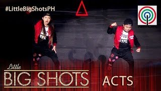 Little Big Shots Philippines: Jeromee and Thea   HipHop Dance Duo