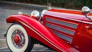 Mercedes-Benz 540K Special Roadster w29 - sells for record $9.9 million