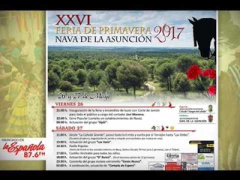 26 Y 27 MAYO - NAVA DE LA ASUNCION - ANUNCIO SONORO DE RADIO LA ESPAÑOLA FM