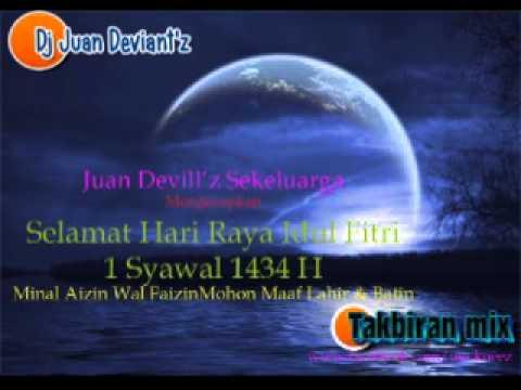 Dj Juan Deviant'z - Takbiran 1 # Th 2013 Feat Uje (alm)