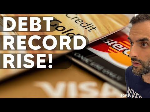 Consumer Debt Spiked A RECORD PACE as Americans Max Out Credit Cards!