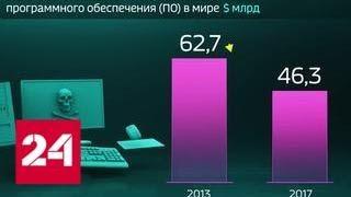 Мир в цифрах. Стали реже устанавливать пиратский софт - Россия 24