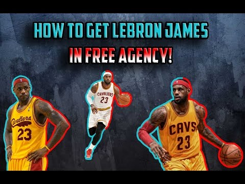 HOW TO GET LEBRON JAMES IN FREE AGENCY GUARANTEED!! - NBA 2K17 MyLeague GLITCH XB1 (PATCHED)