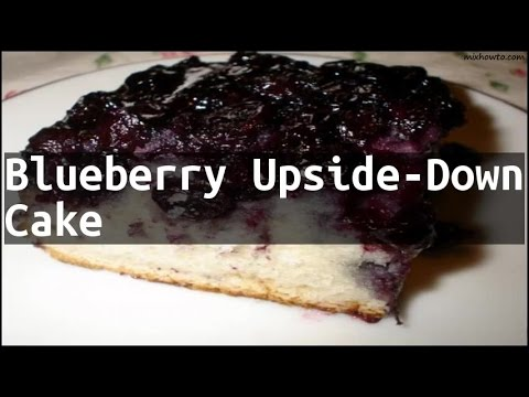 Blackberry Upside Down Cake With Cake Mix