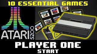 10 Essential Games f๐r Atari 5200 - Player One Start