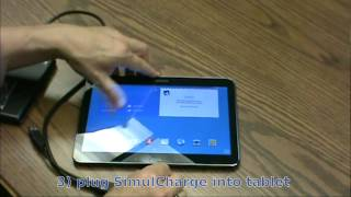 Attaching an external USB hard drive to a Samsung Galaxy Tab 4