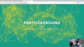 How to add Particles to your Divi Section with Particleground