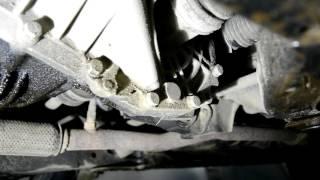 Hyundai Accent 2. Замена масла в МКПП (Механической коробке передач)