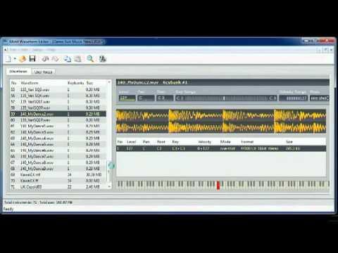 Motif Waveform Editor FR - YouTube