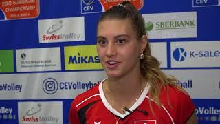 """""""Das Spiel ist um einiges schneller"""" - Korina Perkovac"""
