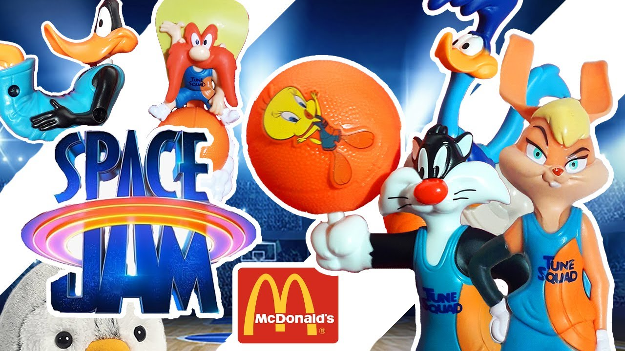 Download 🍔🍟 Cajita Feliz Space Jam 2 🏀 Un nuevo legado nueva era Coleccion Mcdonald's  / Pachi y sus amigos