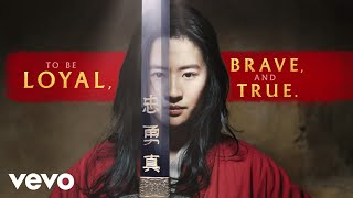"Christina Aguilera - Loyal Brave True (From ""Mulan""/Official Lyric Video)"